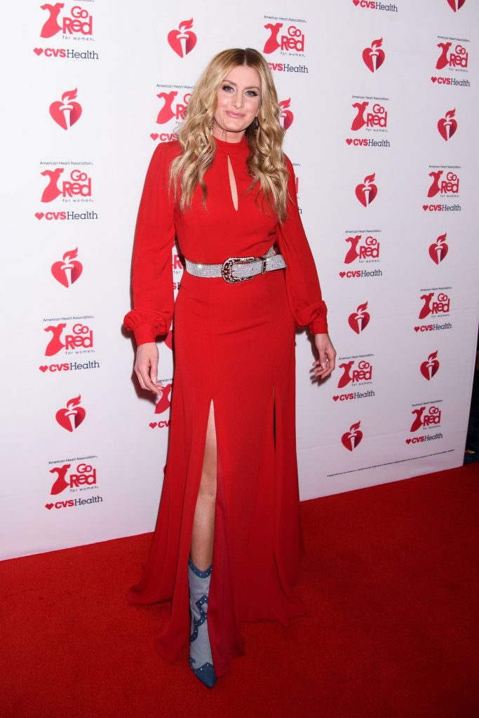 Stephanie Quayle – Go Red For Women Red Dress Collection 2020 in NYC