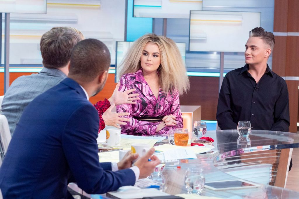 Tallia Storm – Good Morning Britain TV Show in London 2020 (6 Photos)