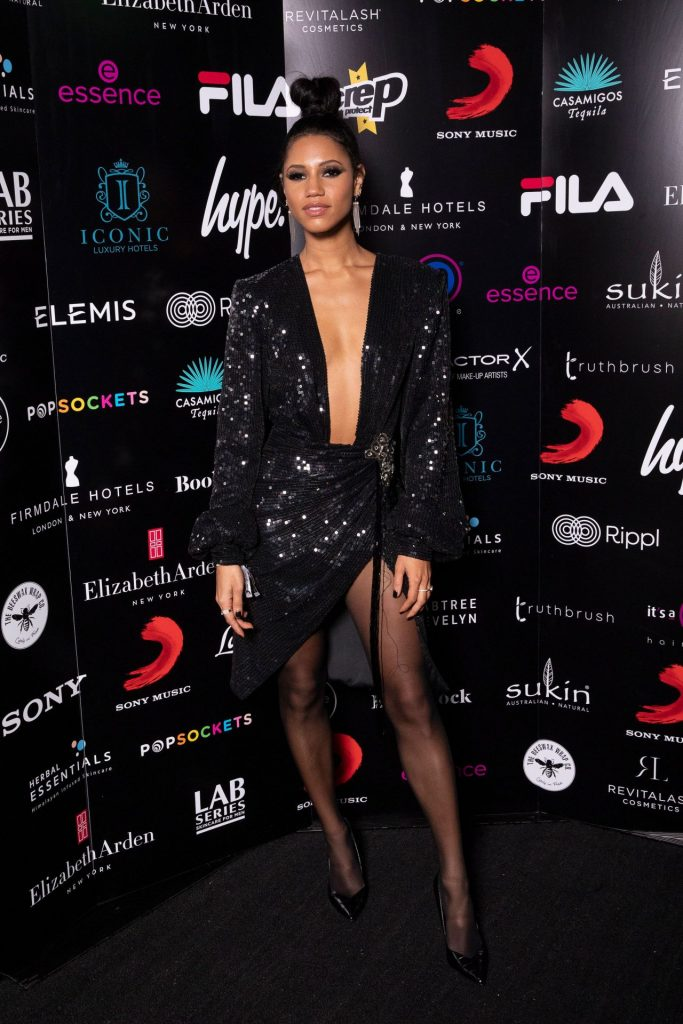 Vick Hope – BRIT Awards 2020 Sony Music After Party in London (4 Photos)