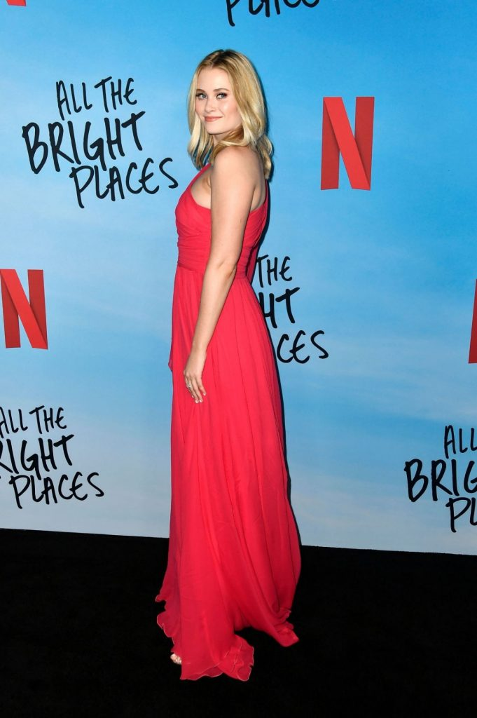 All The Bright Places Special Screening in Hollywood: Virginia Gardner (12 Photos)