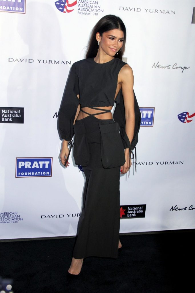 Zendaya – AAA Arts Awards Gala in New York 2020 (2 Photos)
