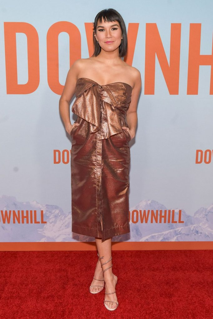 Zoe Chao – Downhill Premiere in New York (10 Photos)