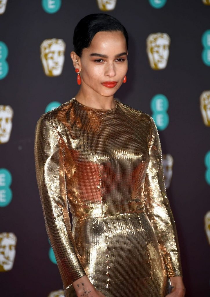 EE British Academy Film Awards 2020: Zoë Kravitz (13 Photos)
