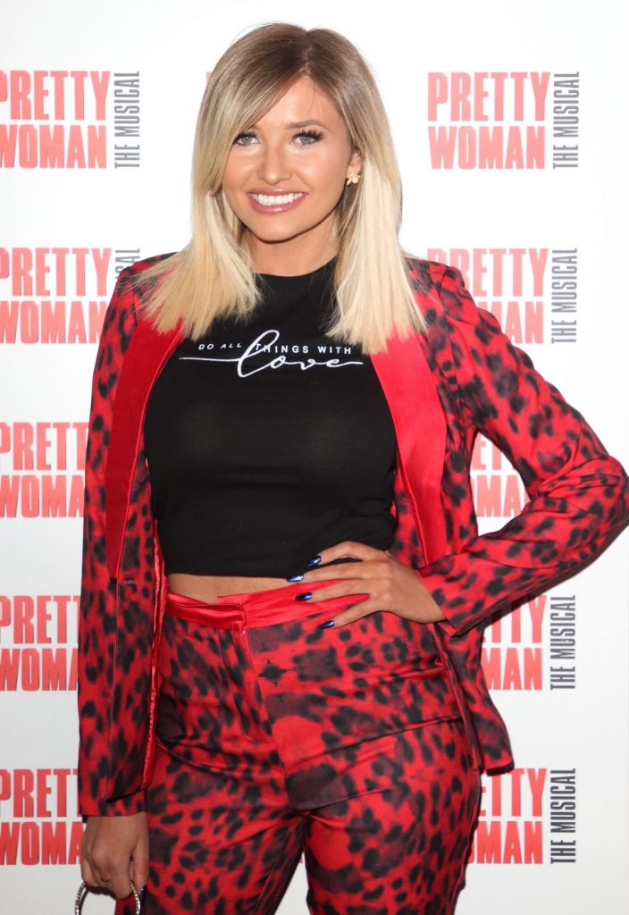 Amy Hart – Pretty Woman The Musical Press Night in London 2020 (10 Photos)