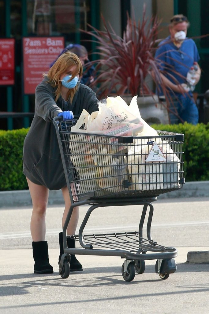 Ariel Winter All Covered Up – Gelson's in LA 2020 (10 Photos)