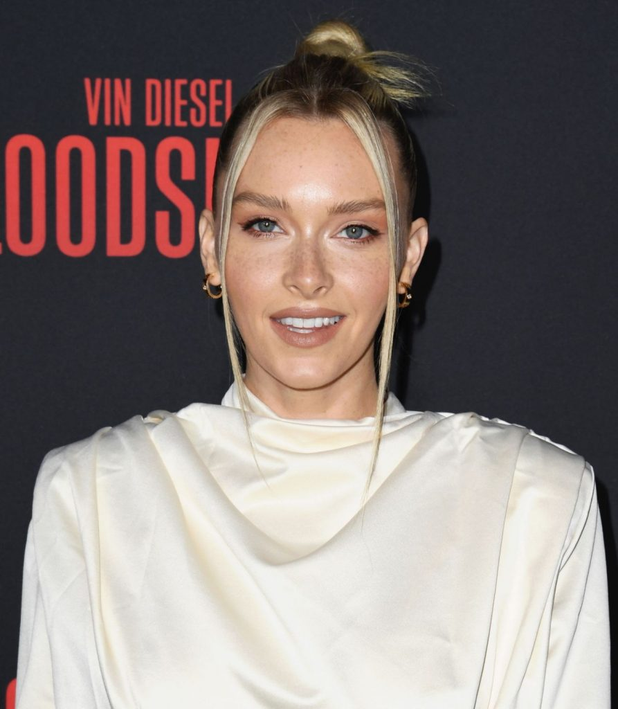 Bloodshot Premiere in LA: Camille Kostek (8 Photos)