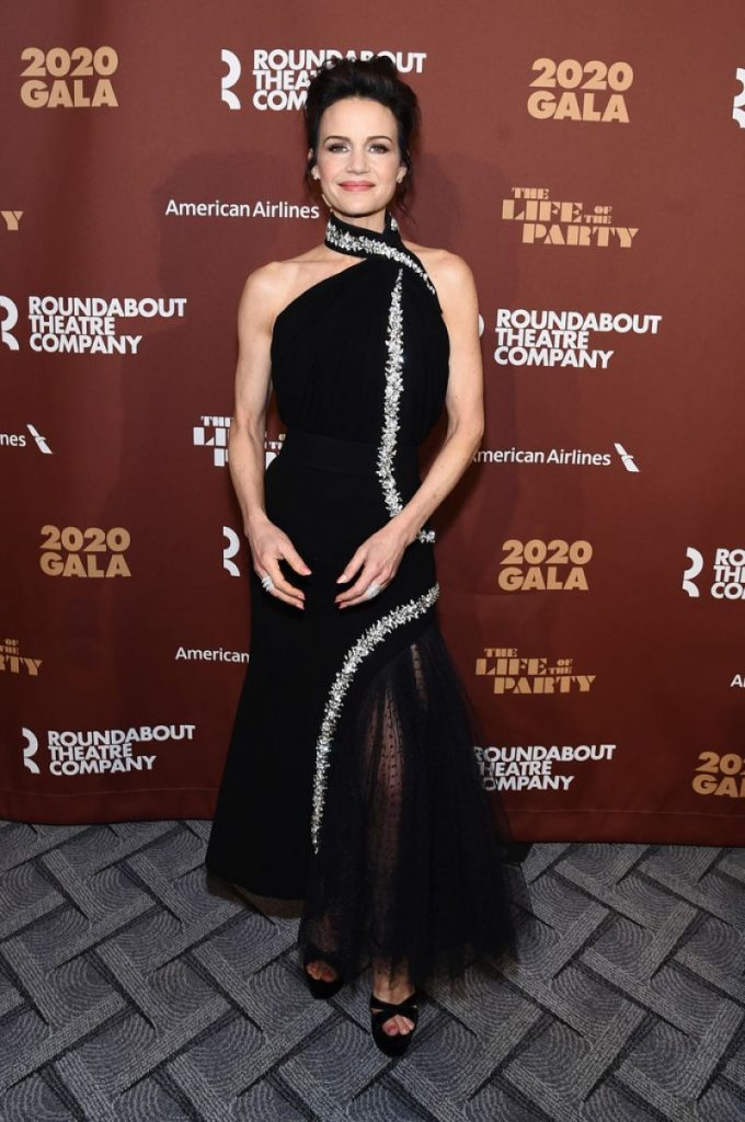 Roundabout Theater's 2020 Gala in NYC: Carla Gugino (3 Photos)