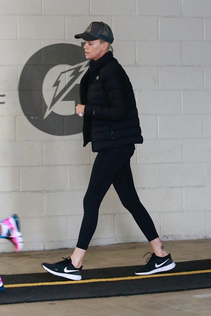 Charlize Theron – Out in Beverly Hills 2020 (4 Photos)
