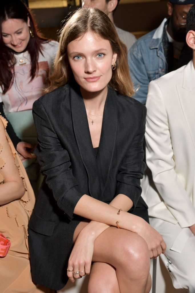 Constance Jablonski – Arrives at Stella McCartney Show at Paris Fashion Week 2020 (13 Photos)