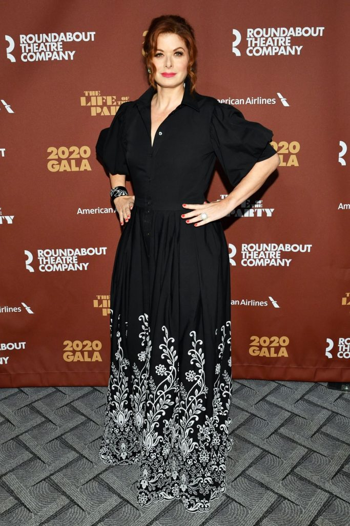 Debra Messing – Roundabout Theater's 2020 Gala in NYCv
