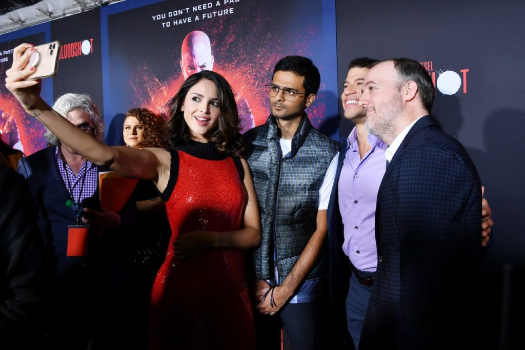 Bloodshot Premiere in LA: Eiza González (12 Photos)