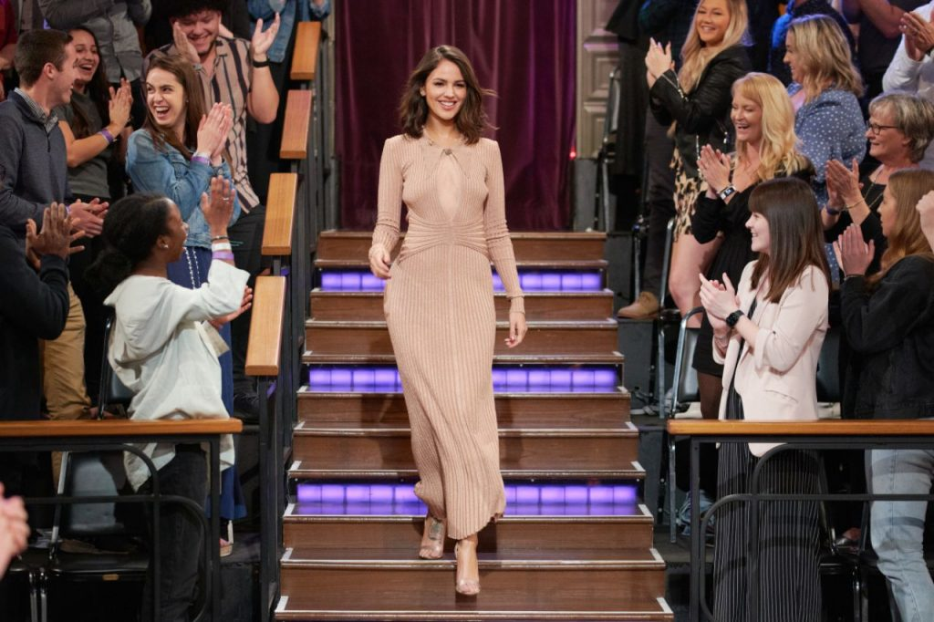 Eiza Gonzalez – The Late Late Show with James Corden 2020 (5 Photos)