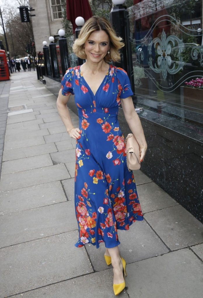TRIC Awards 2020: Emilia Fox (10 Photos)