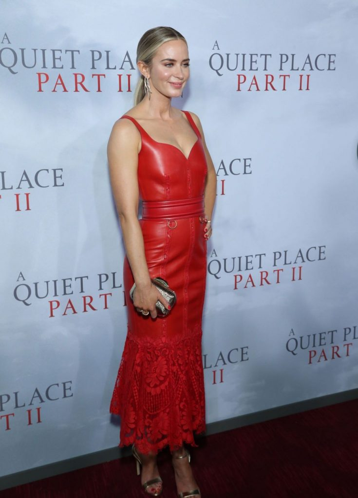 Emily Blunt – A Quiet Place Part II Premiere in NY (11 Photos)