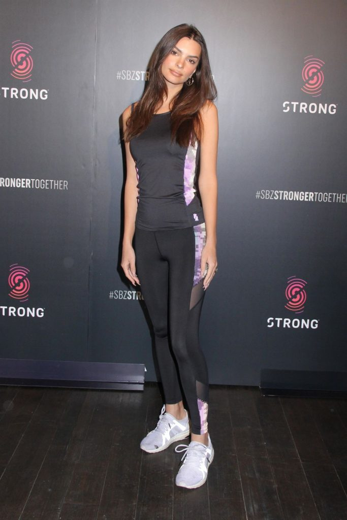 Emily Ratajkowski – Strong By Zumba Workout Event in NYC 2020 (6 Photos)