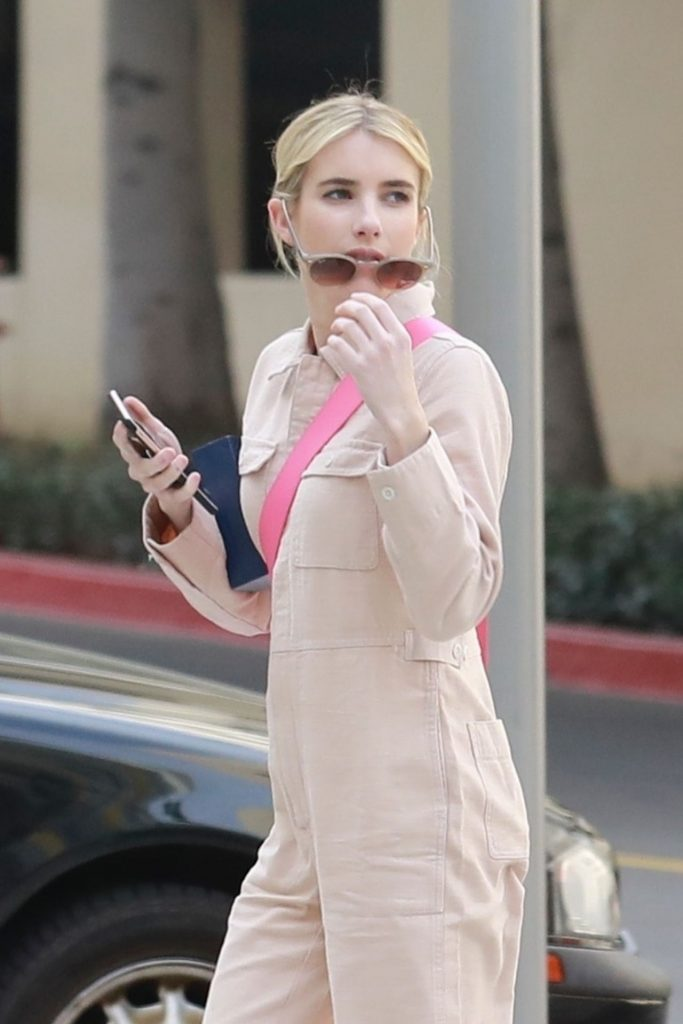 Emma Roberts – Shopping With Her Mother in Burbank 2020 (12 Photos)