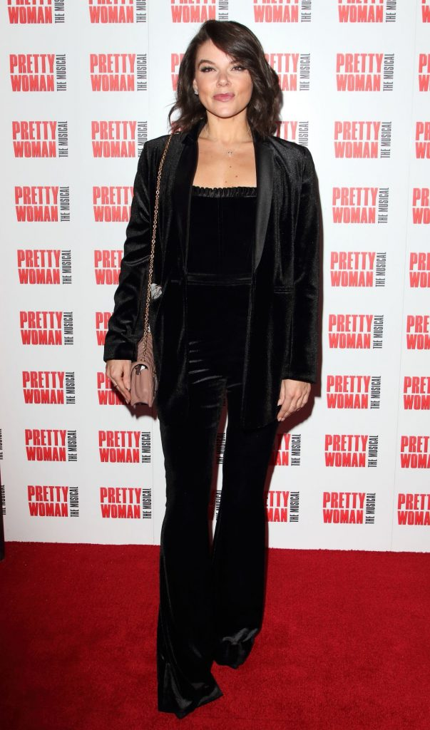 Faye Brookes – Pretty Woman The Musical Press Night in London 2020 (6 Photos)