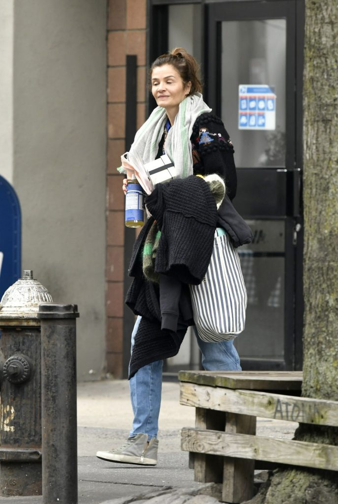 Helena Christensen – Out in New York City 2020 (7 Photos)