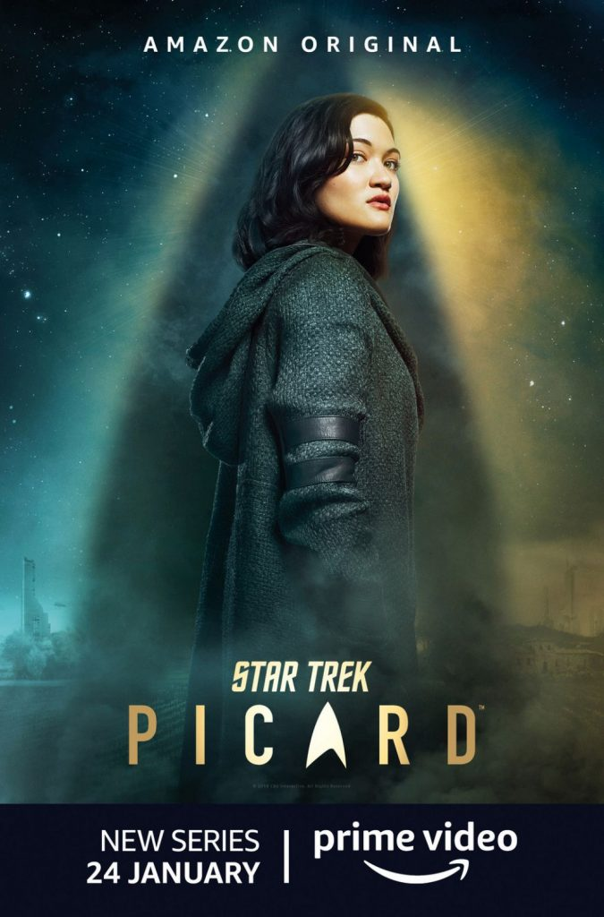 Isa Briones – Star Trek Picard Season 1 Promo (3 Photos)