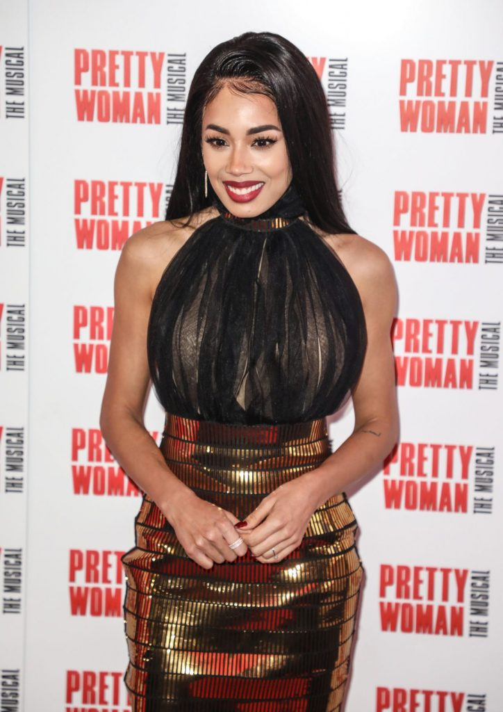 Pretty Woman The Musical- Press Night in London 2020: Jade Ewen (6 Photos)