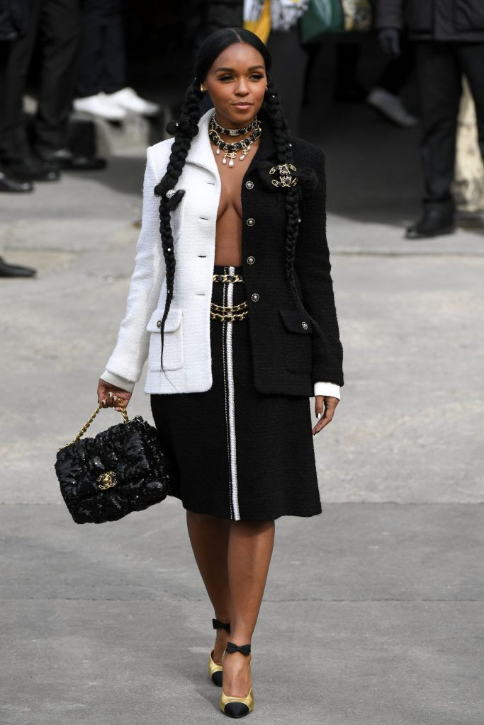 Janelle Monae – Chanel Show at Paris Fashion Week 2020 (19 Photos)