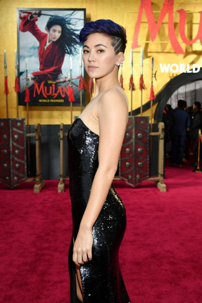 Mulan Premiere in Hollywood: Jessica Henwick (3 Photos)