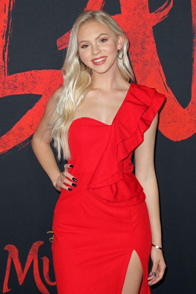 Mulan Premiere in Hollywood: Jordyn Jones (16 Photos)