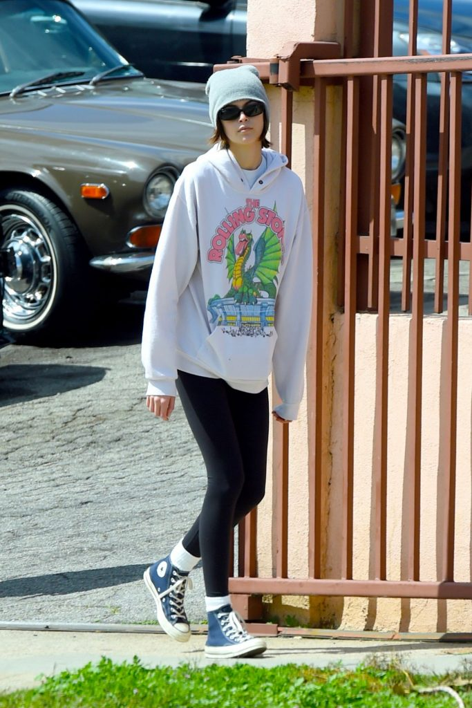 Kaia Gerber in – Out in Los Angeles 2020 (9 Photos)