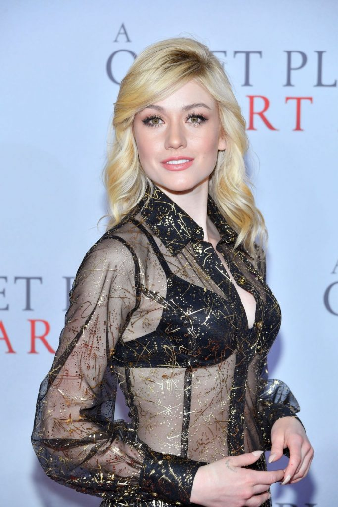A Quiet Place Part II Premiere in NY: Katherine McNamara (2 Photos)