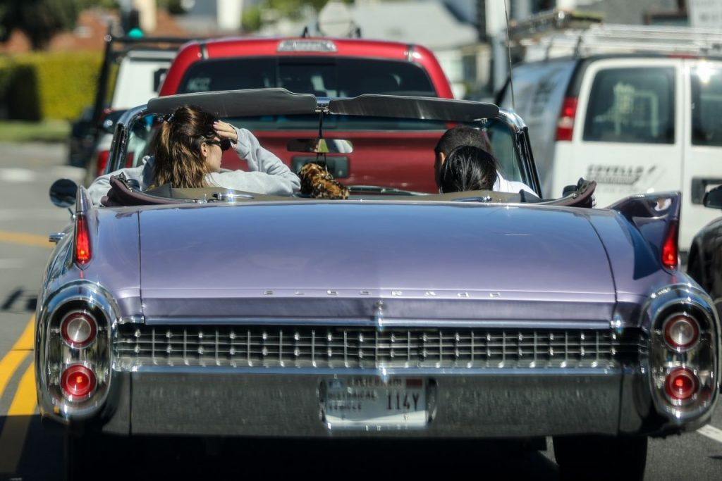 Kendall Jenner – Driving in LA 2020 (13 Photos)