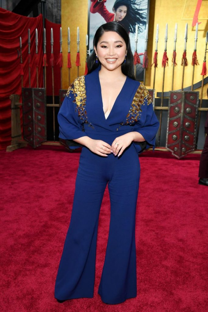 Mulan Premiere in Hollywood: Lana Condor (2 Photos)