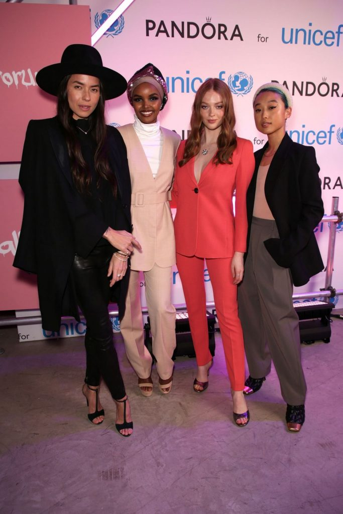 Larsen Thompson – Pandora Charms for Change Event in London 2020 (3 Photos)