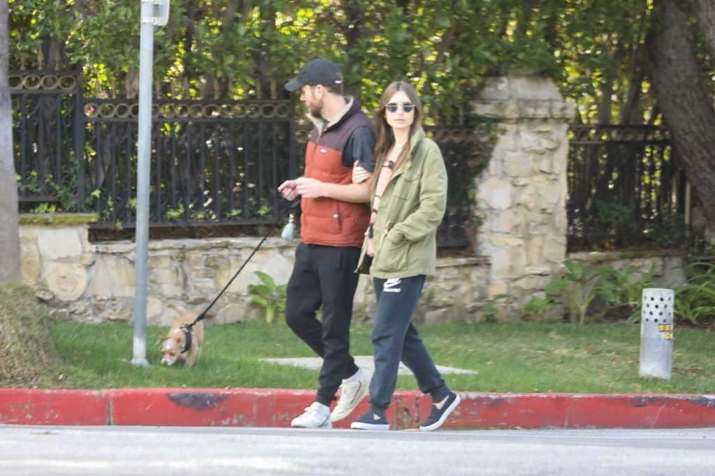 Lily Collins – Out in Los Angeles 2020 (10 Photos)