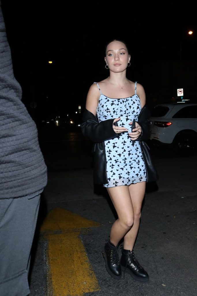 Maddie Ziegler – Outside Delilah Nightclub in West Hollywood 2020 (9 Photos)