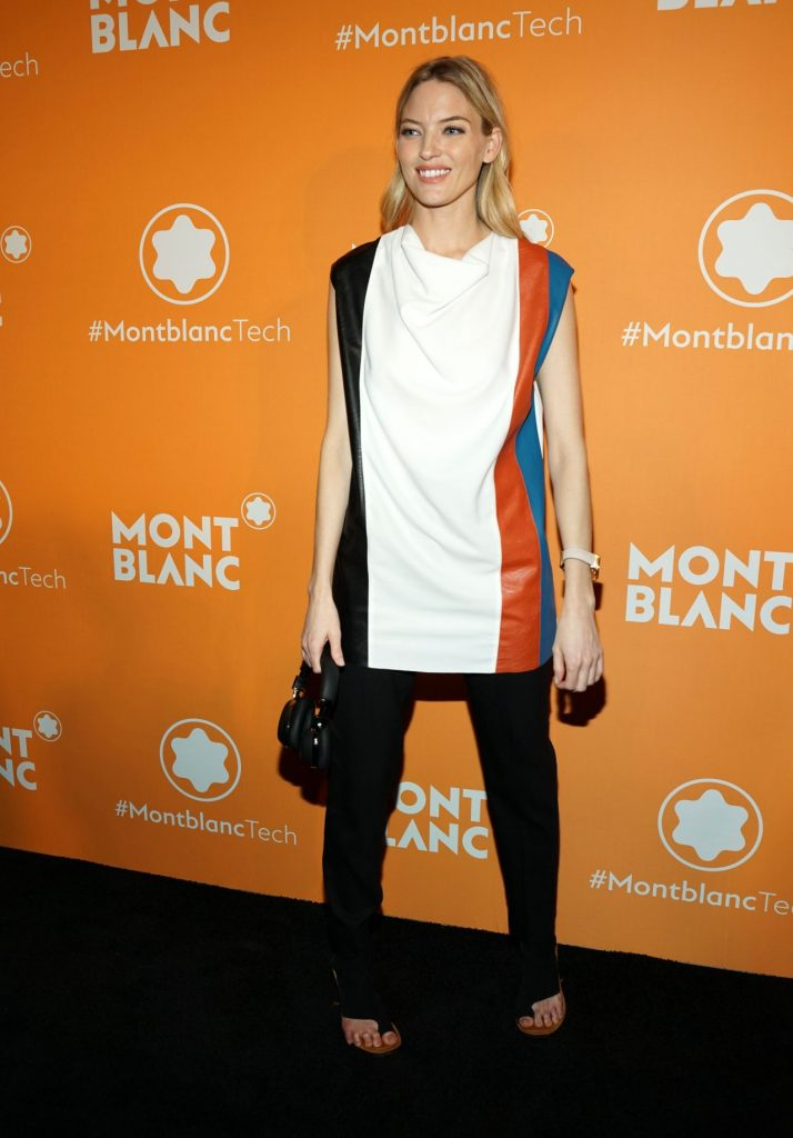 Montblanc Smart Headphones Smart Watch Launch Party in NYC: Martha Hunt (9 Photos)