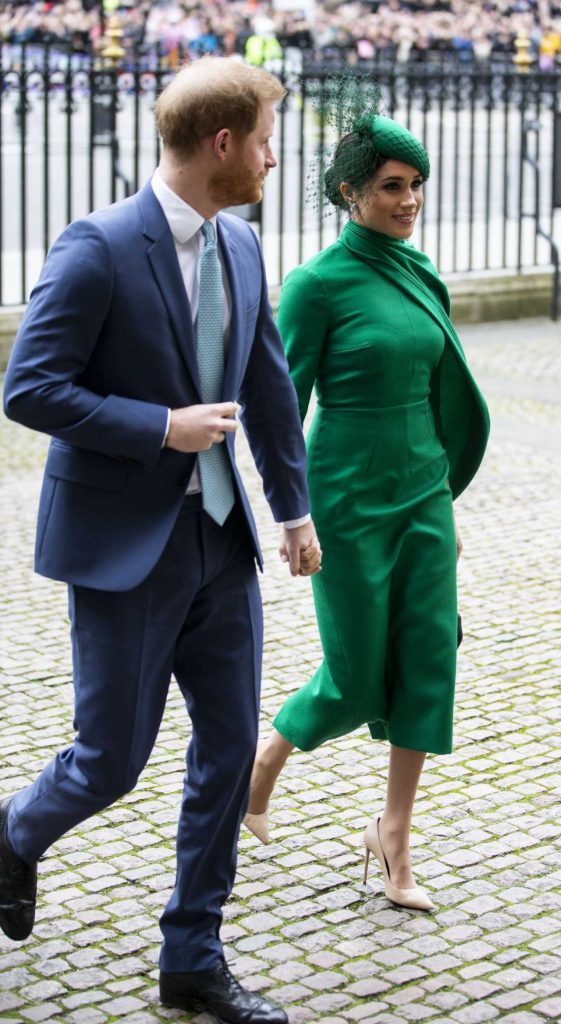 Meghan Markle – Commonwealth Service at Westminster Abbey in London 2020 (13 Photos)