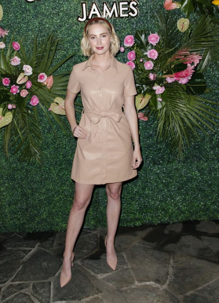 Molly McCook – Uncommon James Launch Party in West Hollywood 2020 (4 Photos)