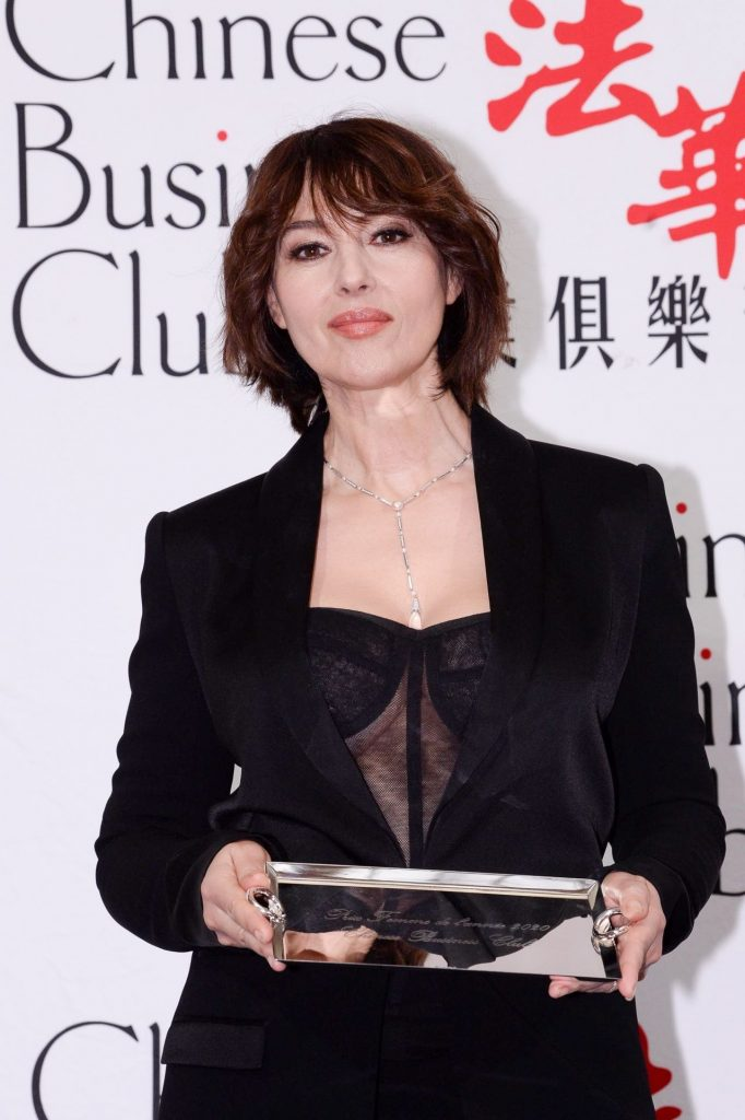 Monica Bellucci – Chinese Business Club Dinner in Paris 2020 (14 Photos)
