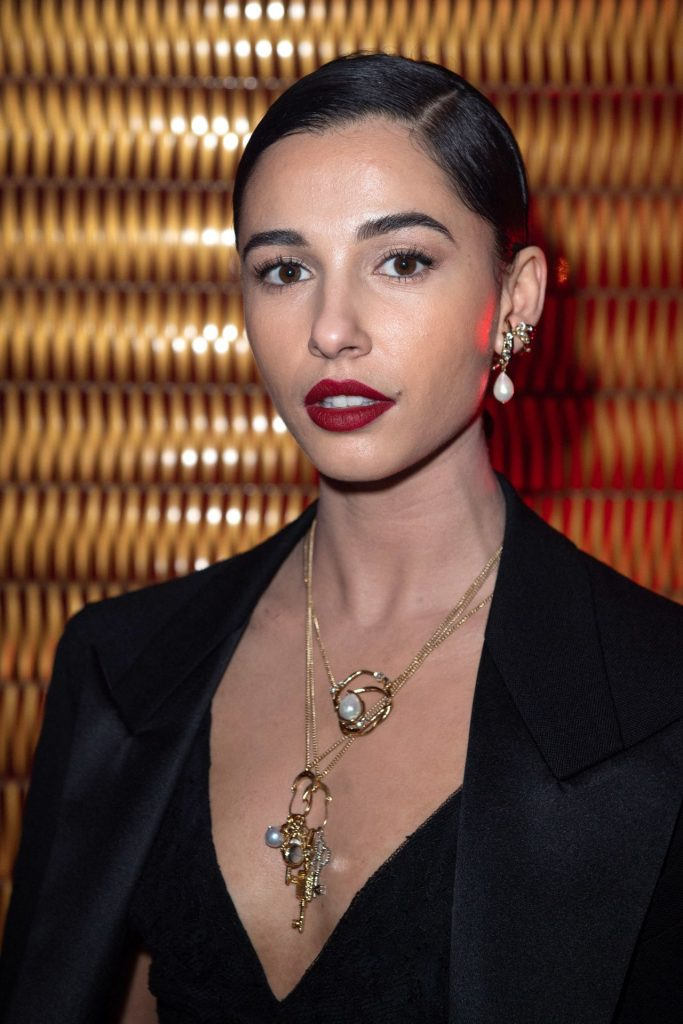 Naomi Scott – Givenchy Show at Paris Fashion Week 2020 (13 Photos)