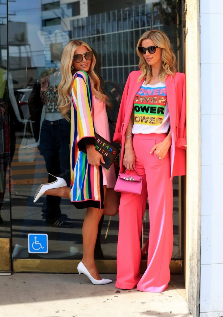 Paris Hilton and Nicky Hilton – Filming in Beverly Hills 2020 (18 Photos)