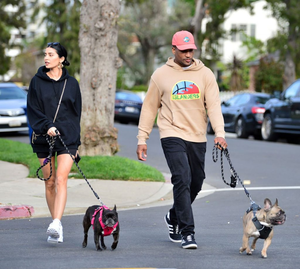 Nicole Williams and Larry English – Out in LA 2020 (7 Photos)