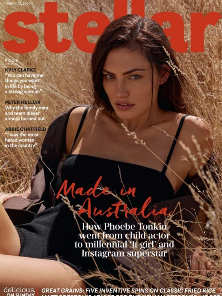 Phoebe Tonkin – Stellar Magazine Australia March 2020 (3 Photos)