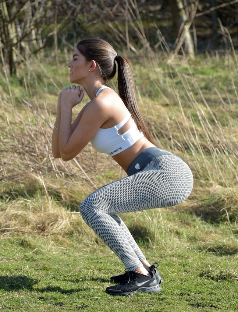 Rebecca Gormley – Workout Session in Newcastle (12 Photos)