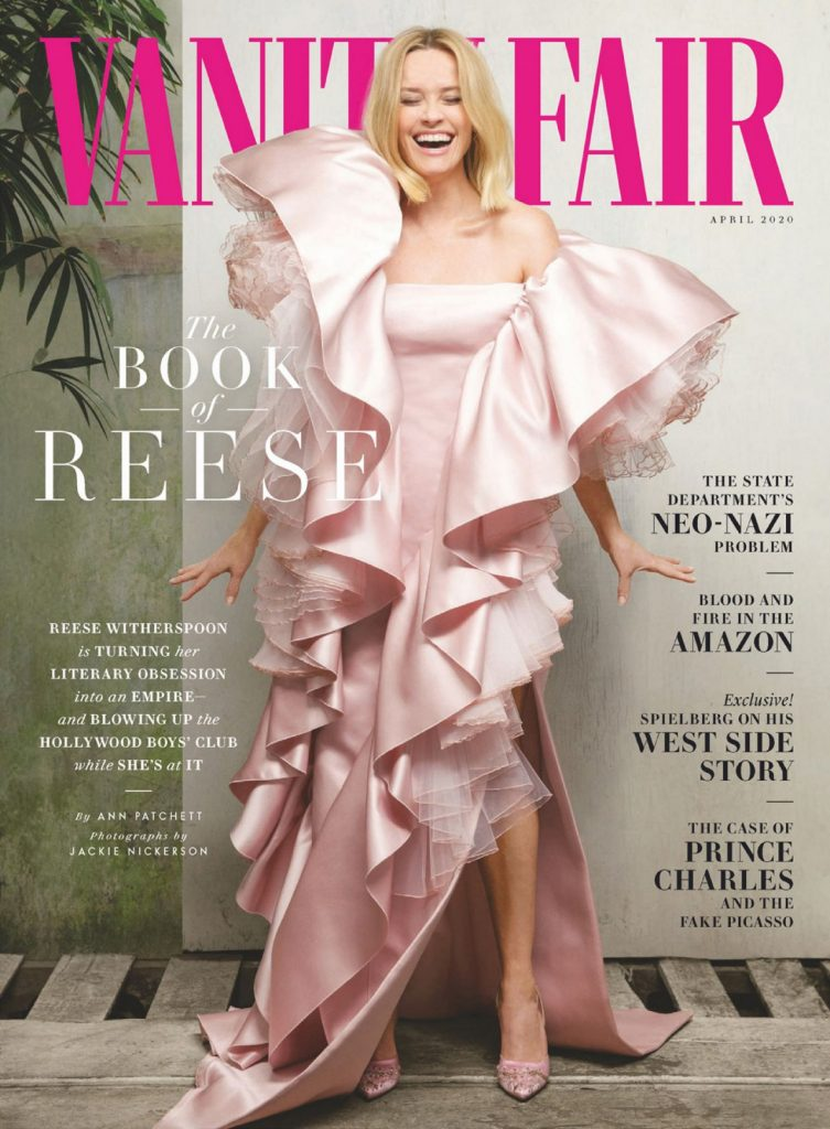 Reese Witherspoon – Vanity Fair Magazine April 2020 Issue