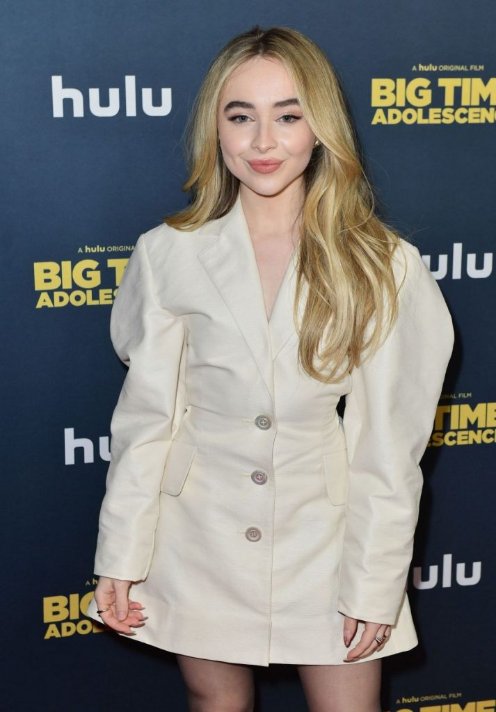 Big Time Adolescence Premiere in NY: Sabrina Carpenter (10 Photos)