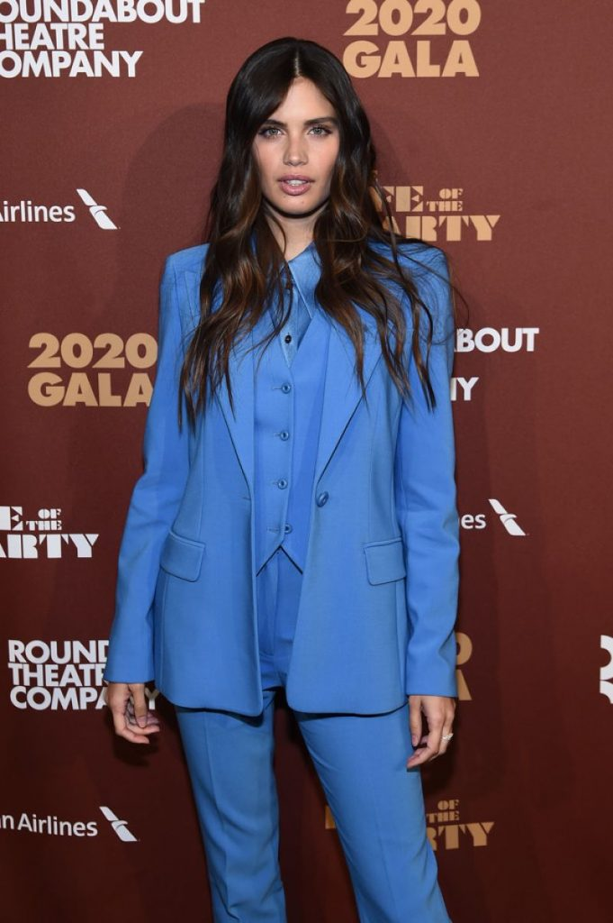 Roundabout Theater's 2020 Gala in NYC: Sara Sampaio (4 Photos)