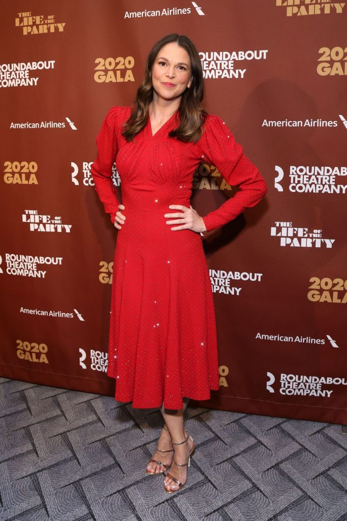 Sutton Foster – Roundabout Theater's 2020 Gala in NYC (7 Photos)