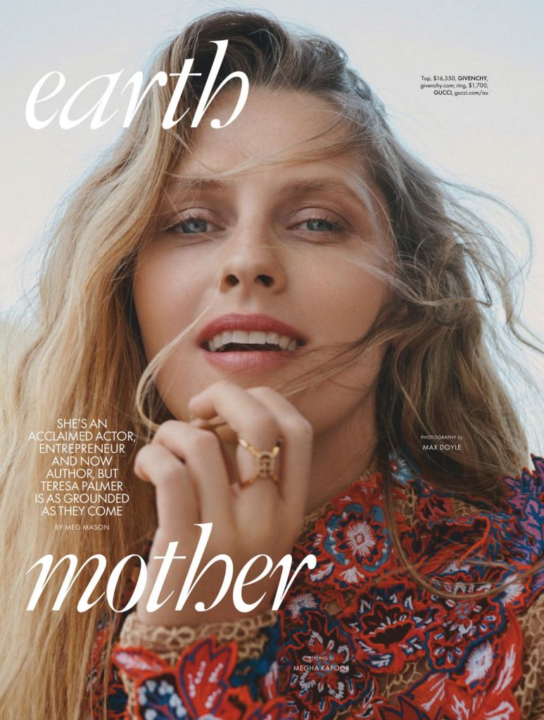 Theresa Palmer – ELLE Australia April 2020