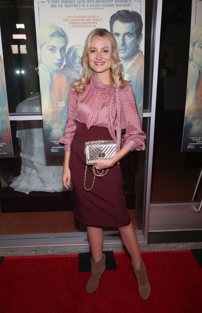 The Burnt Orange Heresy Screening in LA: Vanessa Eichholz (6 Photos)
