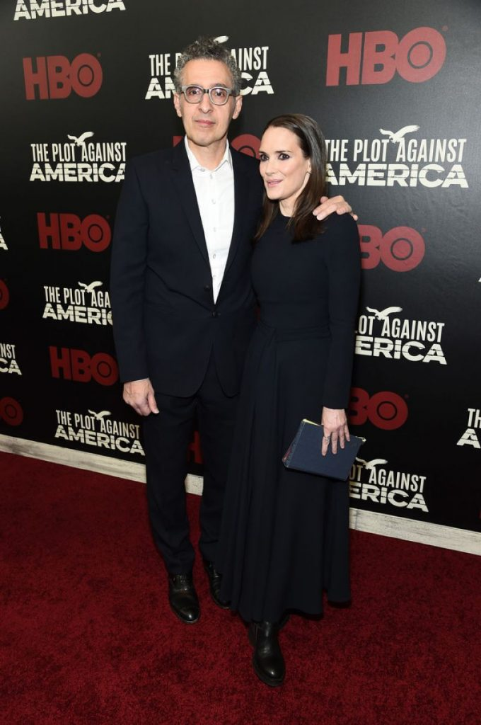 The Plot Against America Premiere in NYC: Winona Ryder (4 Photos)